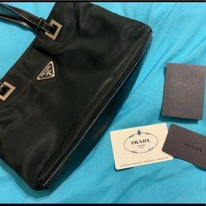 Prada Nylon Small Handbag